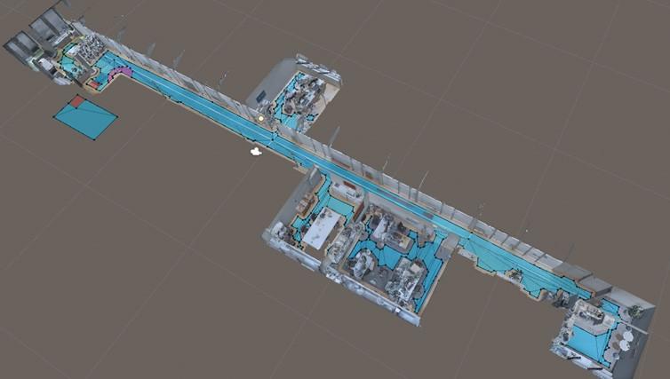 使用Unity的NavMesh进行Area Target导航